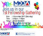 MDDA's 1st Fellowship Gathering.