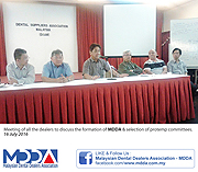 Formation of MDDA & selection of protemp committee